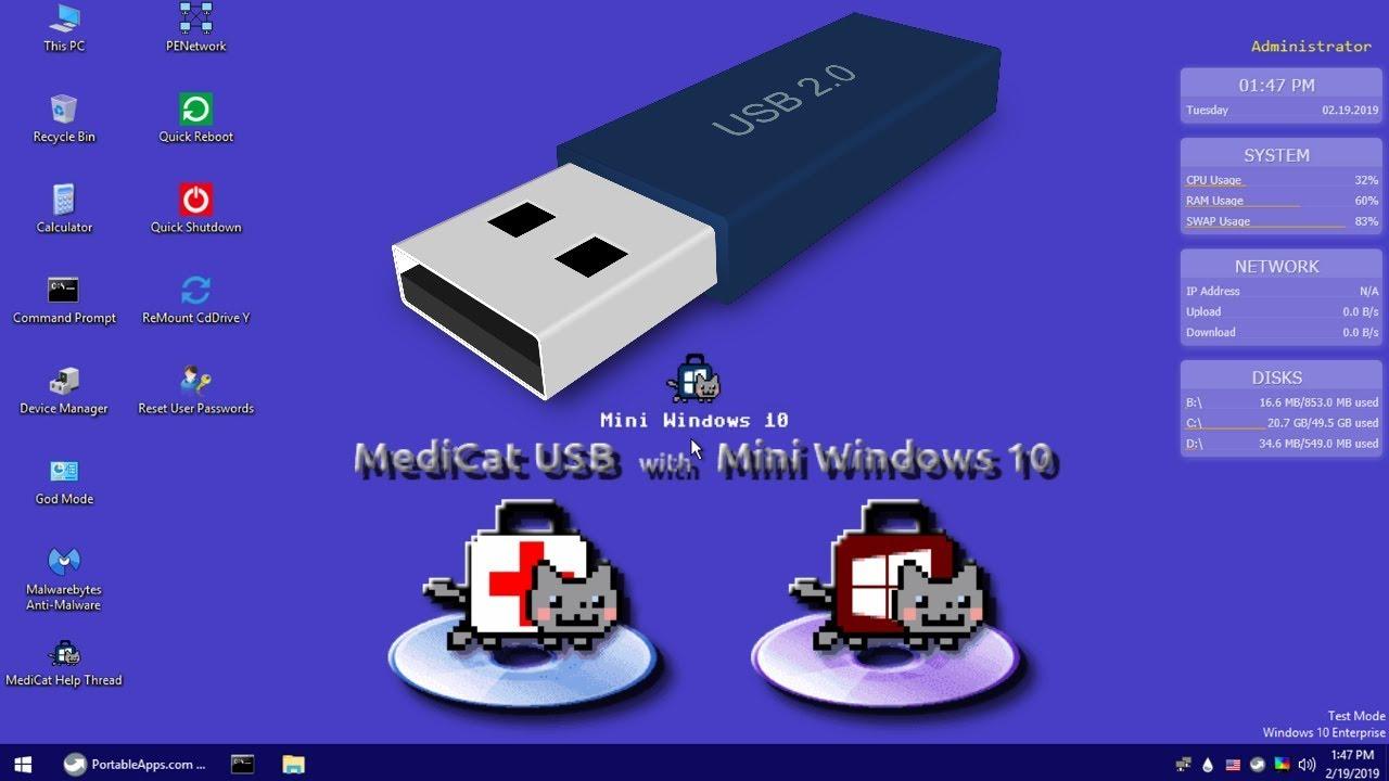 Mini Windows 10 PE v19.10 [mantenimiento Informatico] [Ingles] [E4F] Maxresdefault