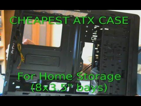 Cheapest ATX Case for Home Server