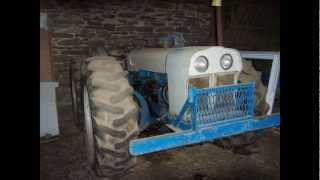 County Super 6 Tractor Sold on Pennsylvania Farm Auction 3/30/13