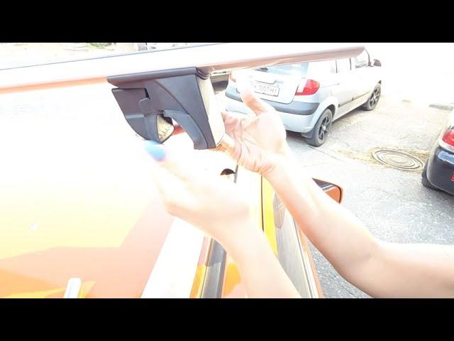 Демонтаж багажной системы на интегрированный и стандартный рейлинг Terra In-Fix