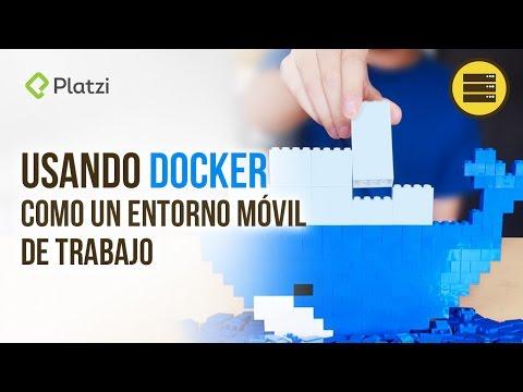 Cómo hacer un entorno móvil con Docker