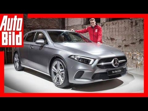 Weltpremiere Mercedes A Klasse 2018 Sitzprobe Review Details