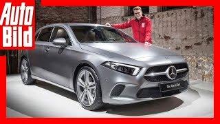 Weltpremiere Mercedes A-Klasse (2018) Sitzprobe/Review/ Details