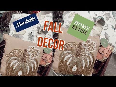 HOMESENSE & MARSHALLS FALL DECOR HAUL (GABRIELLAGLAMOUR)