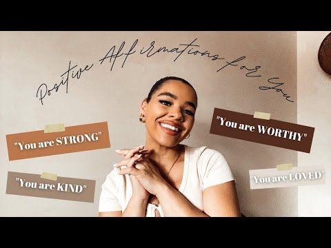 ASMR Positive Affirmations (hand Movements, Breathy Whispers + Words To Make You Feel Good!)