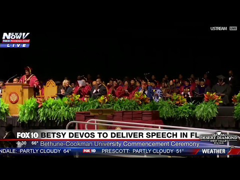 FNN: Omarosa Gets BOOED at Bethune-Cookman University (Historically Black College) Commencement