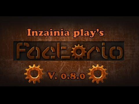 Inzainia Plays: Factorio ver 0.8.0 EP:20 (building a robot driven train depot)