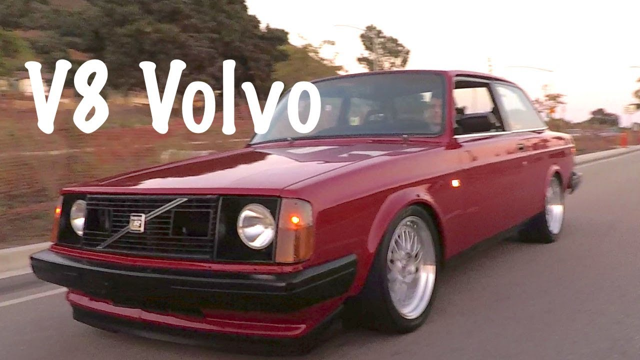 Volvo 240 - Ford 302 V8 Swapped 🇸🇪 🇺🇸