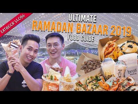 GEYLANG SERAI RAMADAN BAZAAR 2019 FOOD GUIDE | Eatbook Vlogs | EP 99
