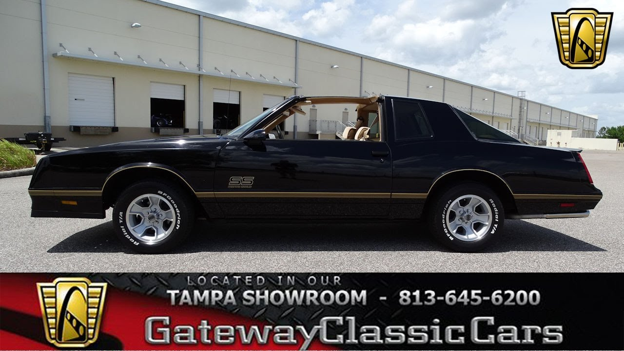 899-Tpa 1987 Chevrolet Monte Carlo 383 Stroker V8 Automatic - YouTube