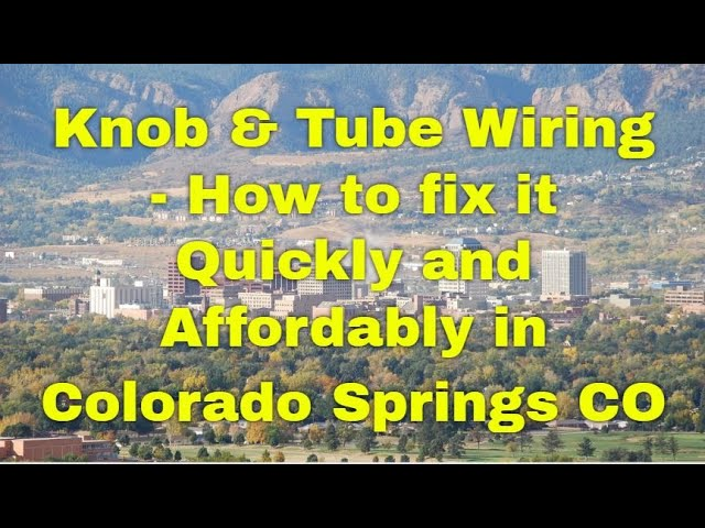 and Tube Wiring Colorado Springs CA - How to AFFORDABLY ... And Tube Wiring Youtube on tube assembly, tube terminals, tube fuses, tube dimensions,