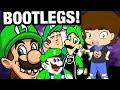 Luigi BOOTLEGS and OTHER CRAP - ConnerTheWaffle
