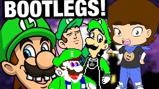 Luigi BOOTLEGS and OTHER CRAP - ConnerTheWaffle