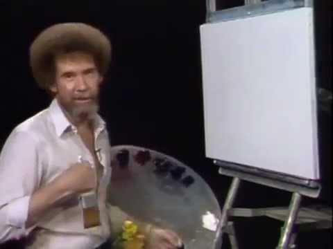 Bob Ross - Happy Little Clouds - YouTube