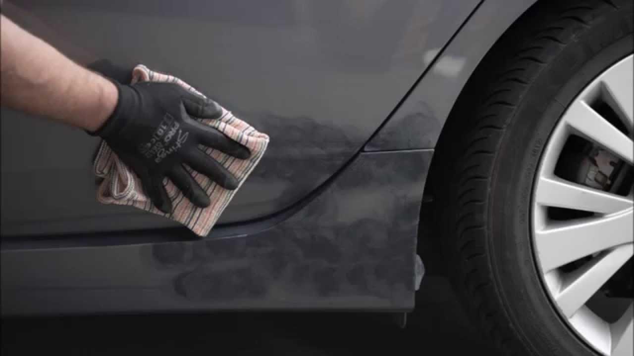 Deep Scratch Repair Rear Door And Side Skirt Mazda 6 Pearl
