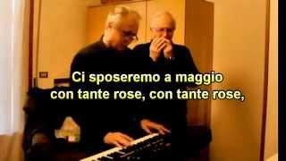 ROSABELLA DEL MOLISE - ARMONICA E TASTIERA (Key of E) - TESTO