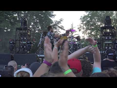 OUR LADY PEACE at INKCARERATION 2018 live (no mosh pit) OHIO STATE REFORMITORY 7/14/18