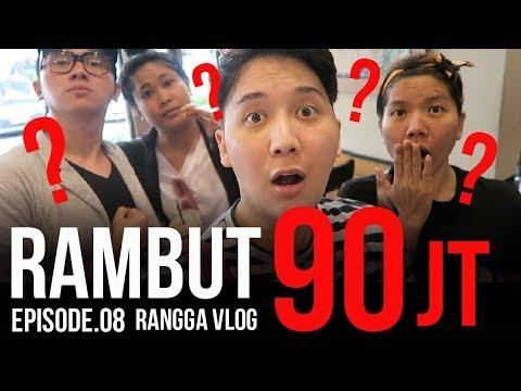Rambut 90 JUTA! | Rangga Moela Vlogs #Eps8