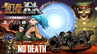 Metal Slug XX Remastered (PS4 Pro)  One Life Full Game (No Death, Leona) [60FPS]