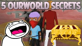 OURWORLD | 5 SECRETS YOU SHOULD KNOW ABOUT | 2015