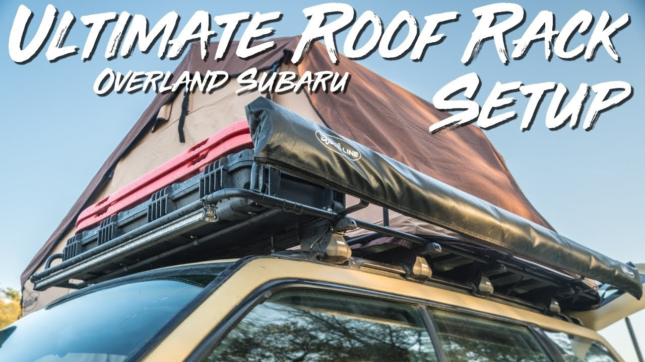 the best overland roof rack setup on a subaru forester