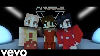Ariana Grande, Miley Cyrus, Lana Del Rey - Don't Call Me Angel (Minecraft Music Video)