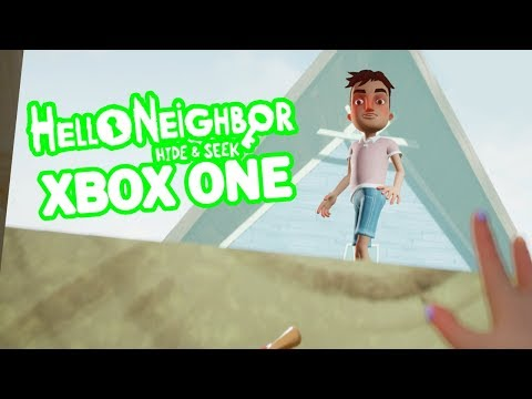 HELLO NEIGHBOR HIDE & SEEK XBOX ONE STAGE 5 + ENDING