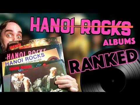 Classic-Era Hanoi Rocks Albums RANKED