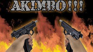 Dual wield   swat team airsoft AKIMBO   GO PRO HERO 4