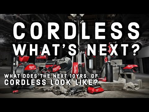 What's Next For Cordless Tools?  NEW Milwaukee MX Fuel Equipment System