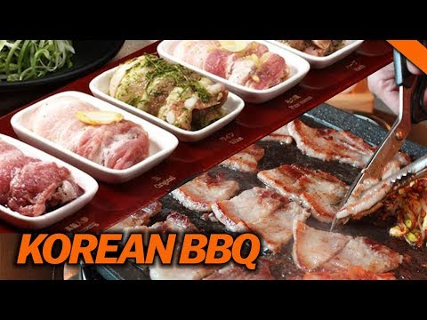 BEST KOREAN PORK BELLY AT KBBQ (8 Flavors) // Fung Bros Food