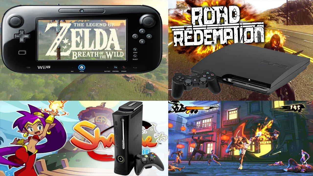 Los Juegos De Ps3 Xbox 360 Y Wii U Mas Esperados Para El 2017 2018