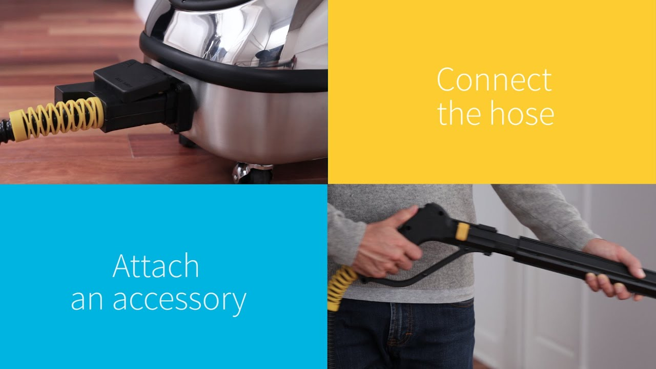 Dupray Hill Injection™ Commercial Steam Cleaner - New Model - YouTube