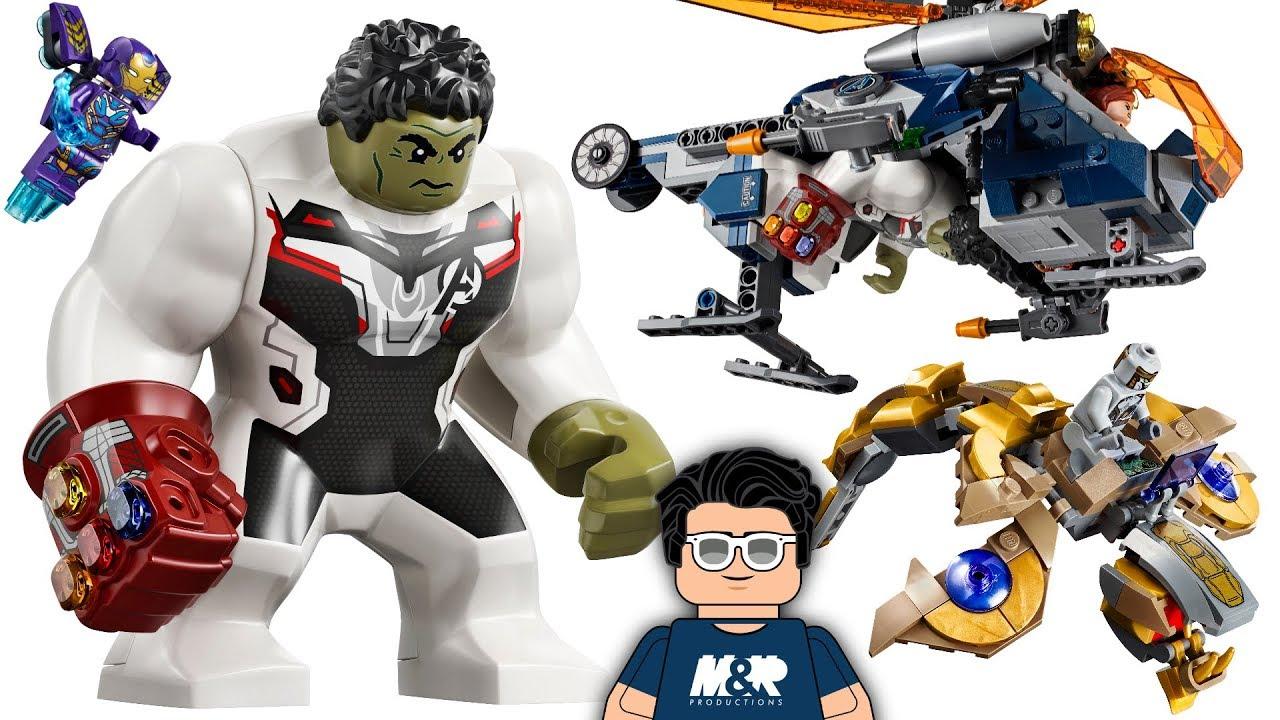 2020 LEGO Avengers Endgame Set! 76144 Hulk Helicopter Drop!