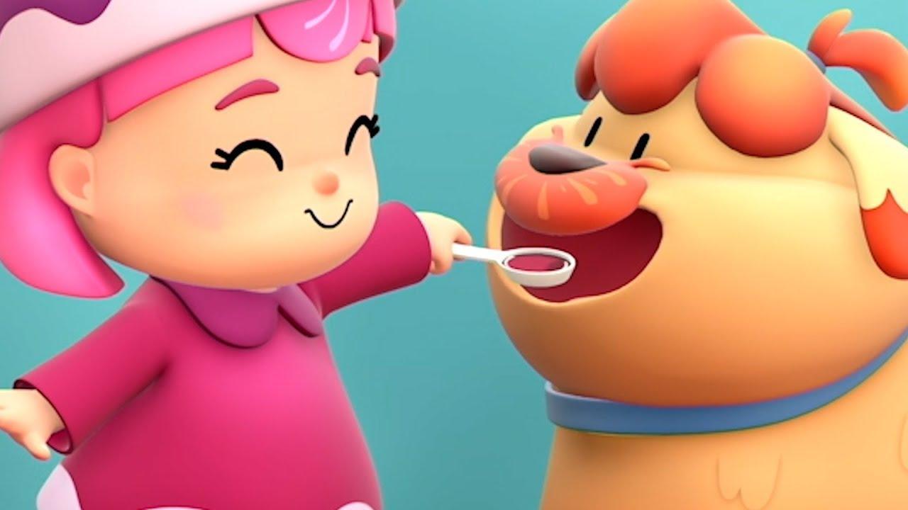 Little Girl Becomes A Little Nurse! | Hero Dad | Kartun Anak