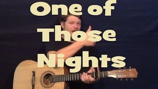 One of Those Nights (Tim McGraw) How to Play - Easy Guitar Strum Chord Lesson G C D