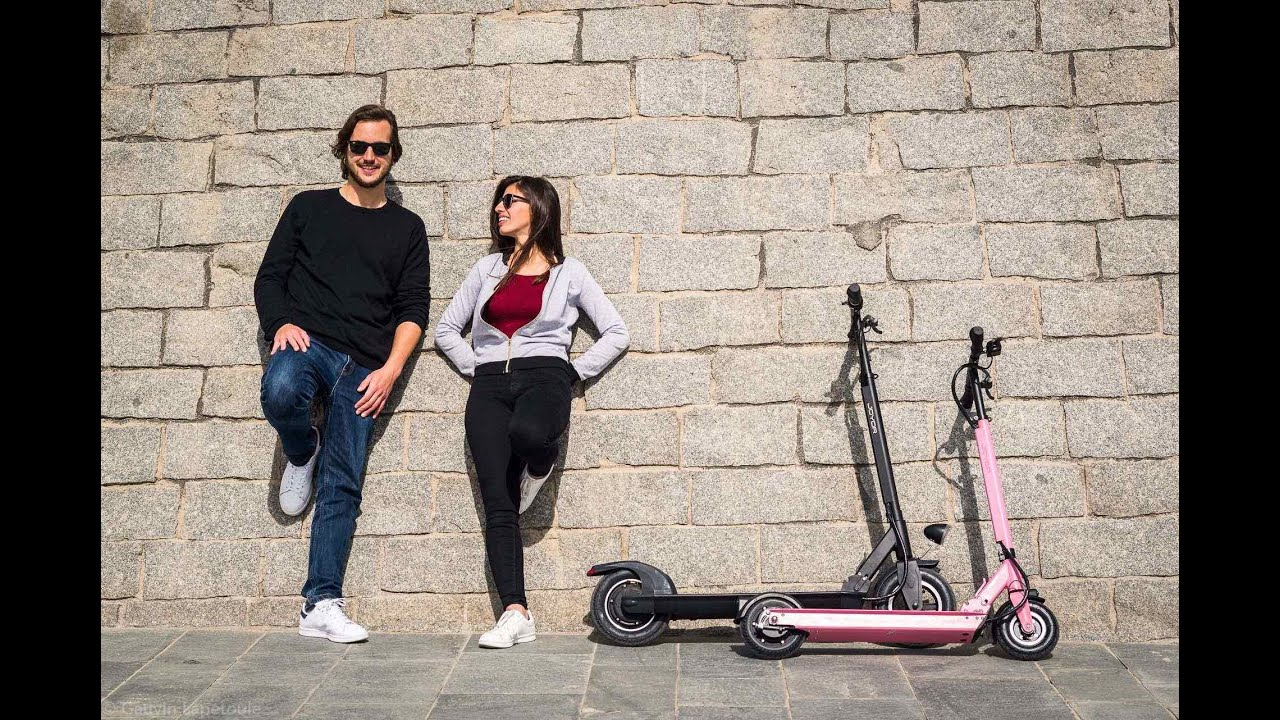 2017 Joyor Electric and Foldable Scooter Mix