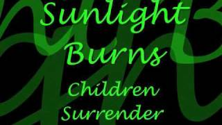 Black Veil Brides-Children Surrender[with lyrics]