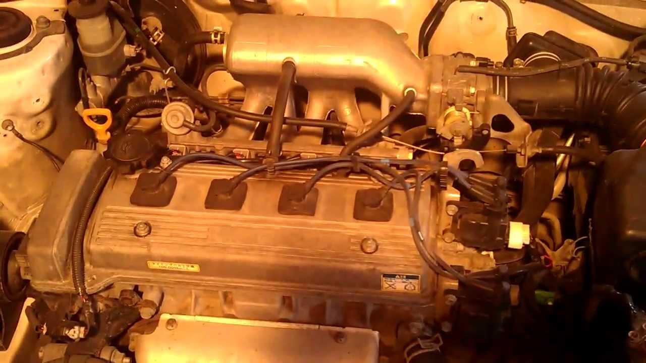 схема двигателя тойота корона премио