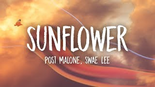 Gambar cover Post Malone, Swae Lee - Sunflower (Lyrics)
