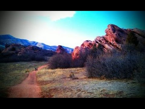 Sunrise Drive To Colorado's South Valley Park!