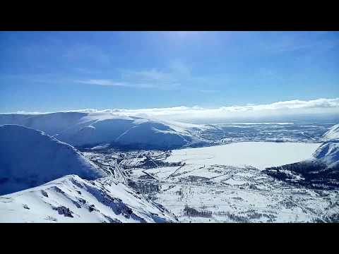 Видео — Обзор с горы Кукисвумчорр, город Кировск Мурманской области