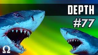 SHARKY BUTT NIBBLES! | Depth #77 w/Friends - Divers vs Sharks