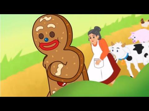 Manusia Kue Jahe  - Kartun Anak Cerita2 Dongeng Anak Bahasa Indonesia - Cerita Anak Anak