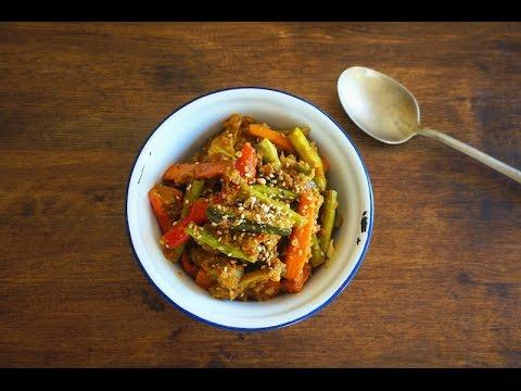 Acar Awak {Spicy Pickled Vegetables}