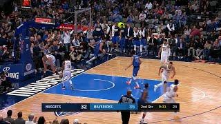 2nd Quarter, One Box Video: Dallas Mavericks vs. Denver Nuggets