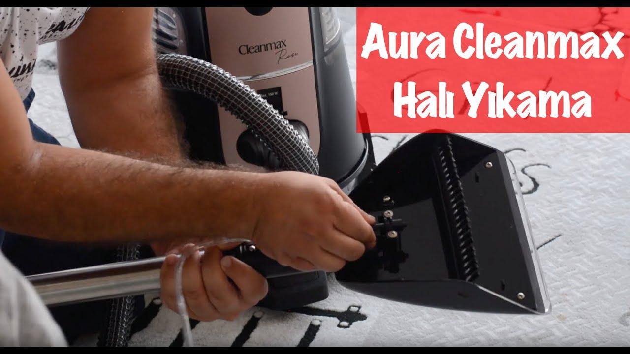 2019 Aura Cleanmax Temizlik Robotu ile Halı Yıkama