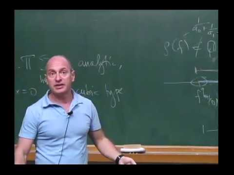 New Trends in Onedimensional Dynamics - Michael Yampolsky