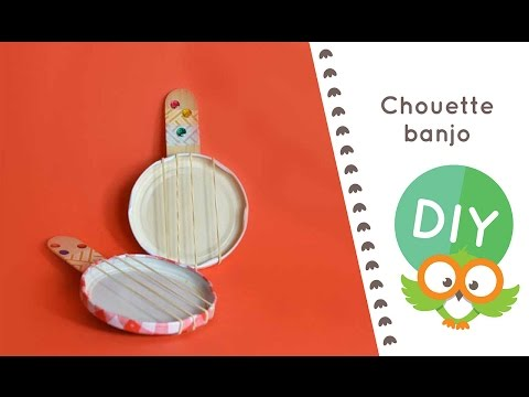 DIY éclair #23.5 : Réalise ton banjo ! Ton instrument de musique à cordes à faire soi-même