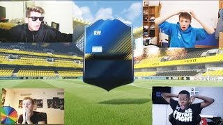 BEST FIFA 17 TOTY PACK OPENING REACTIONS EVER FT. THE LUCKIEST FIFA 17 TOTY PACKS OF THE YEAR! #TOTY